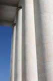 Marble modern columns Stock Photo