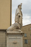 Marble monument of Arezzo Stock Photography