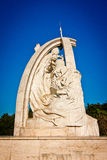 Marble monument The Coronation Stock Images