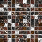 Marble mosaic decor bacground Royalty Free Stock Photos