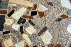 Marble mosaic Royalty Free Stock Photos