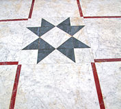 marble mosaic in the old city morocco africa and history travel Stock Photography