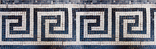 Marble mosaic Stock Photos