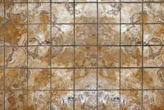 Marble mosaic tiles Stock Photography