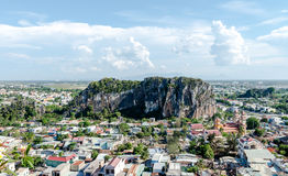 Marble Mountains, Danang Vietnam May 2016 Royalty Free Stock Images