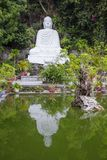 Vietnam. Da Nang. Buddha temple in the Marble mountains. Royalty Free Stock Image