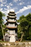 Marble Mountains Pagoda Stock Photo