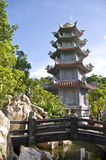 Marble Mountains Pagoda. Pagoda at the Marble Mountains in Vietnam Stock Images