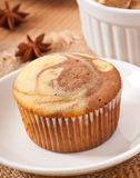 Marble muffin Stock Images