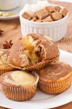 Marble muffins Royalty Free Stock Photos