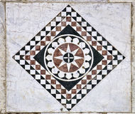 Marble ornament from wall of Cathedral of St Martin in Lucca Stock Photography