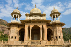 Marble Palace. The Marble Palace in Jaipur, India Royalty Free Stock Photography