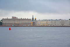 Marble Palace, Gromov's mansion and profitable house of Zherebtsova in Saint Petersburg, Russia Stock Image