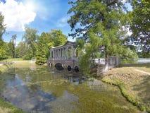 Marble (Palladian) Bridge, or Siberian Marble gallery. Catherine Park. Pushkin. Petersburg.  Royalty Free Stock Image