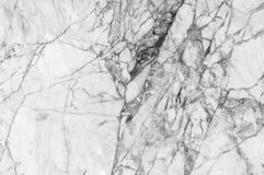 Marble patterned texture background ,Black and white. Royalty Free Stock Image