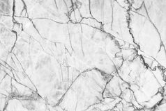 Marble patterned texture background ,Black and white. Royalty Free Stock Photography