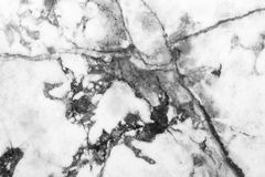 Marble patterned texture background ,Black and white. Stock Image