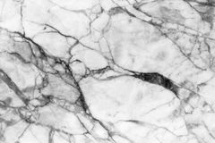 Marble patterned texture background ,Black and white. Royalty Free Stock Photo