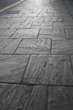 Marble  pavement Royalty Free Stock Photo