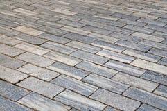 Marble pavement Stock Photo