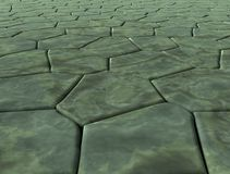 Marble paving stones Royalty Free Stock Photo