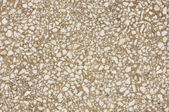 Marble pebbles texture. Texture of marble pebbles inlaid in cement stock photo