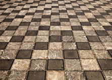 Marble Piazza In Taormina Royalty Free Stock Image