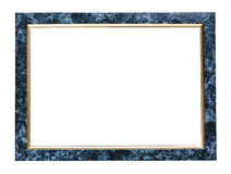 Marble picture frame. Marble effect picture frame isolated on a white background Stock Photo