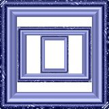 Marble picture frame generated isolated texture Royalty Free Stock Photos