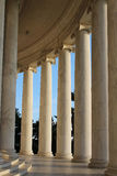 Marble pillars Stock Images