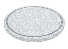Marble plate Stock Photography