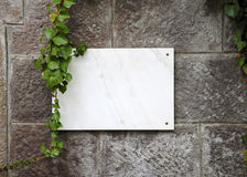 Marble plate royalty free stock photo