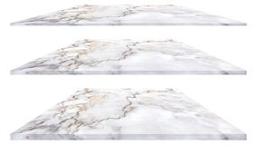 Marble plate isolated on white background for interior exterior decoration and industrial construction design royalty free stock photography