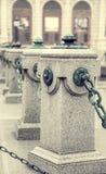 Marble poles in Vienna, Austria Stock Photos