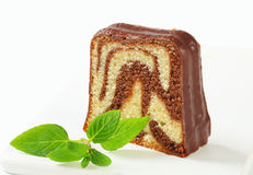 Marble pound cake Stock Photos