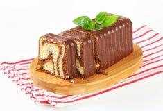 Marble pound cake Royalty Free Stock Image