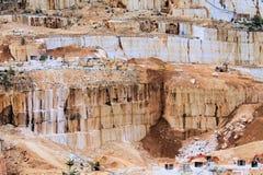 Marble quarries Stock Photo