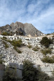 The Marble Quarries - Apuan Alps , Carrara, Stock Photography