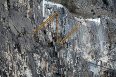 The Marble Quarries - Apuan Alps , Carrara, Royalty Free Stock Photo