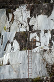 The Marble Quarries - Apuan Alps , Carrara, Stock Photo