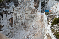 The Marble Quarries - Apuan Alps , Carrara, Royalty Free Stock Photography
