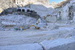 Marble quarries of Carrara Royalty Free Stock Photography