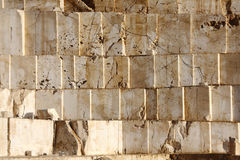 Marble quarry. Marble blocks in a big marble quarry Stock Photography