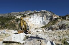 Marble quarry Royalty Free Stock Photo