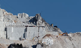Marble quarry Royalty Free Stock Images