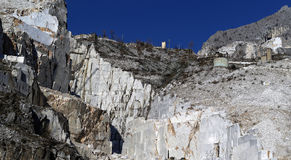 Marble quarry Stock Image