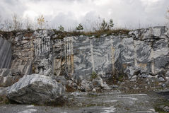 Marble quarry 6 Royalty Free Stock Photos