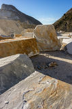Marble Quarry Royalty Free Stock Image