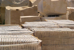 Marble quarry Stock Photography