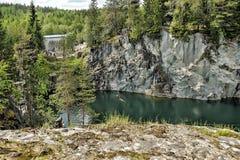 Marble quarry Stock Photos